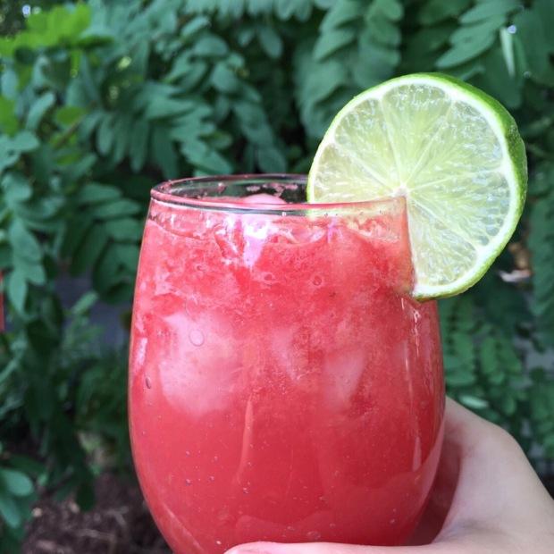 Watermelon-Ginger Agua Fresca Recipe — Dishmaps