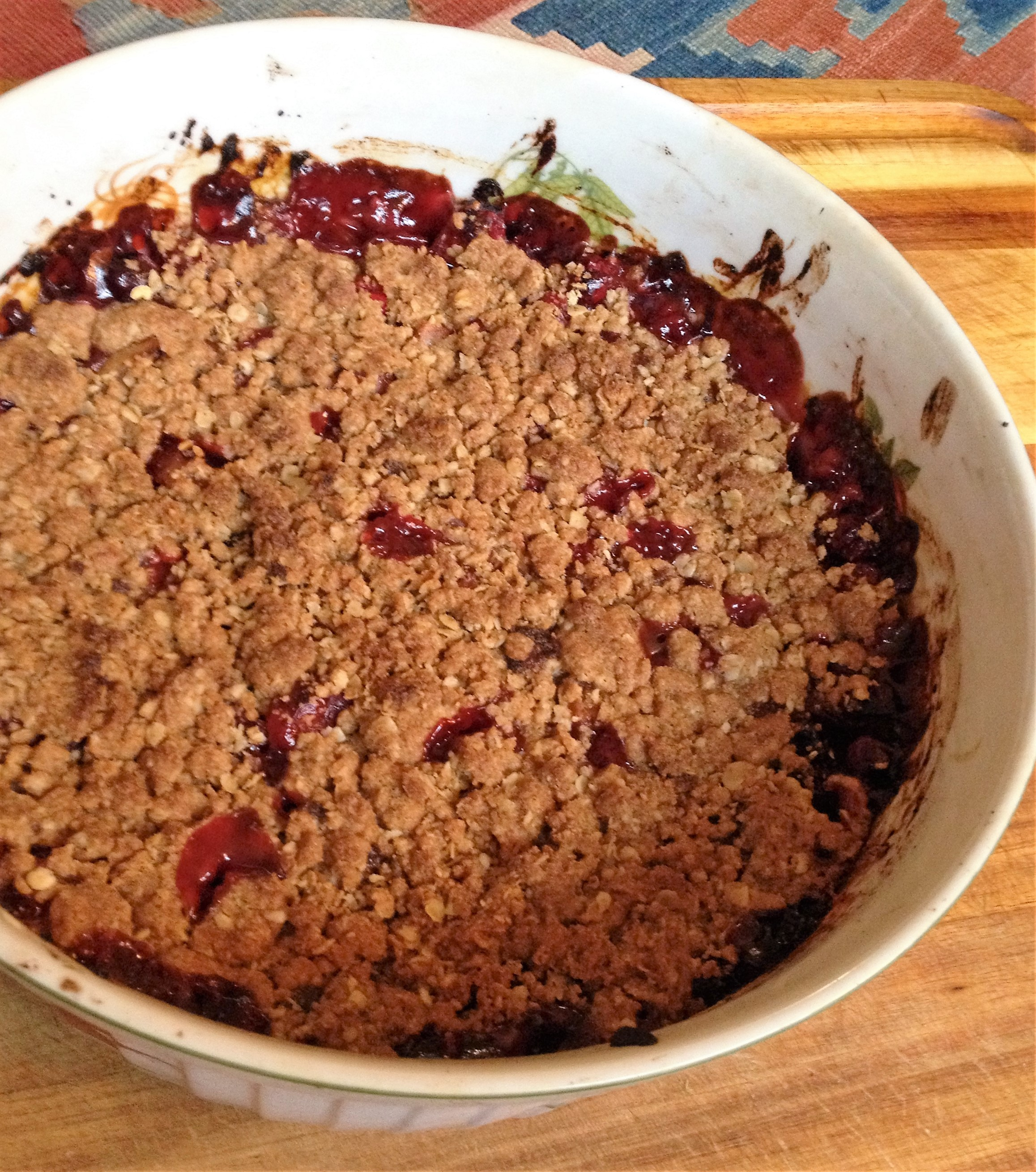 Apple Cranberry Crumble – Adeline Alley